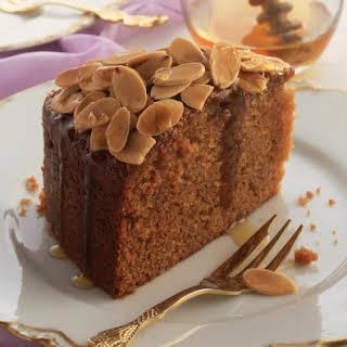 Honey and Almond Cake.