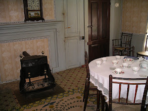 Photo: Fitch parlor, showing stove.