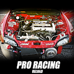 Pro Racing Reload 2D Icon