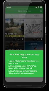 Speed Status - Fast Status Saver & Downloader  apk screenshot 3
