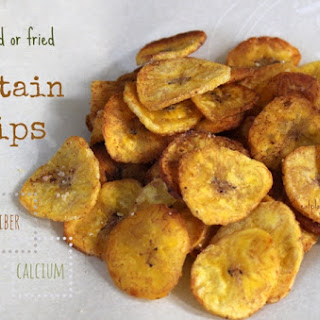 Plantain Chips - Baked or Fried