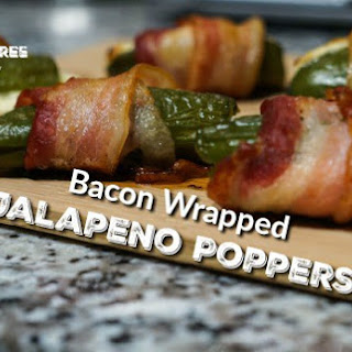 Ketogenic Bacon-Wrapped Jalapeno Poppers.