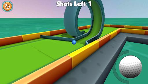 Mini Golf 3D  captures d'écran 2