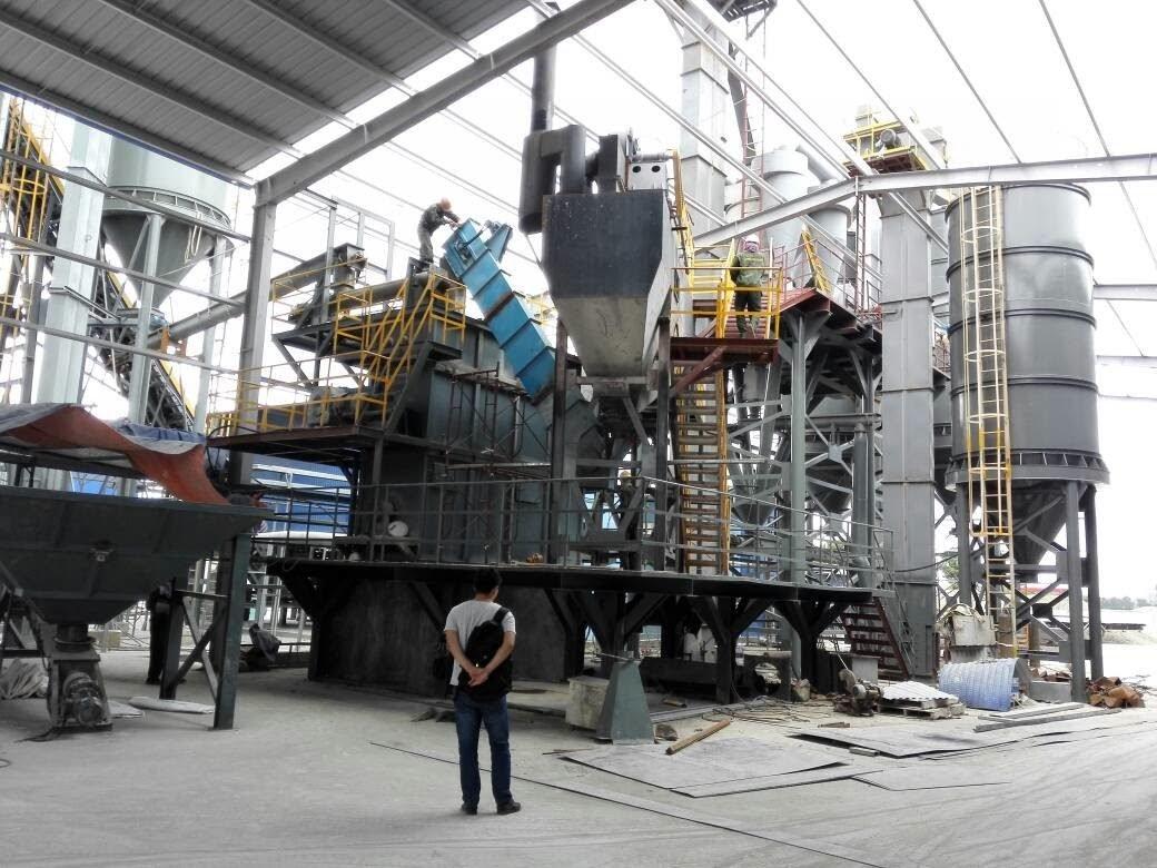 sản xuất vôi hydrat