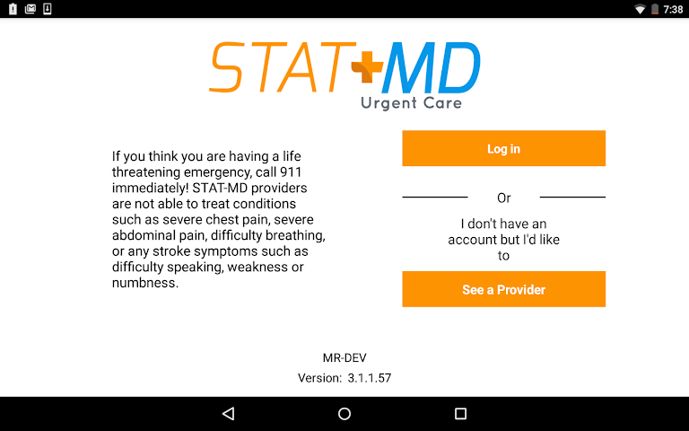 android STAT-MD eClinic Screenshot 5
