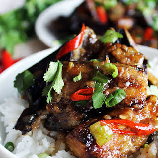 Chinese Fried Eggplant Recipes.