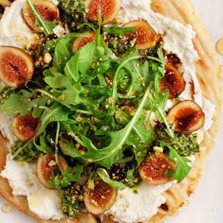 Fig & Ricotta Flatbread Pizza.