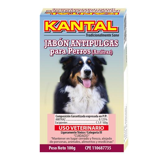 jabon para mascotas kantal antipulgas para perros 100ml