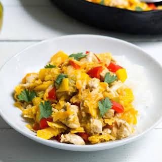 Mango Chicken Tortilla Skillet.