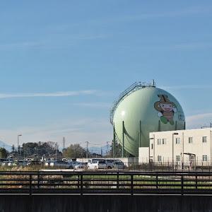 本庄ガス 供給所 ガスタンク