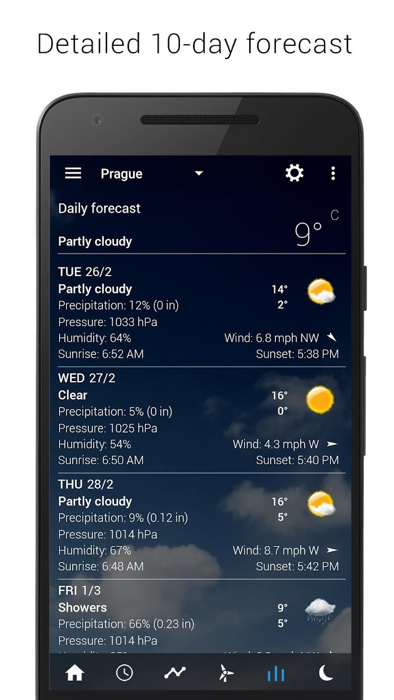 Digital clock & world weather Screenshot 13