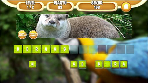 Tebak Nama Binatang Indonesia screenshot 3