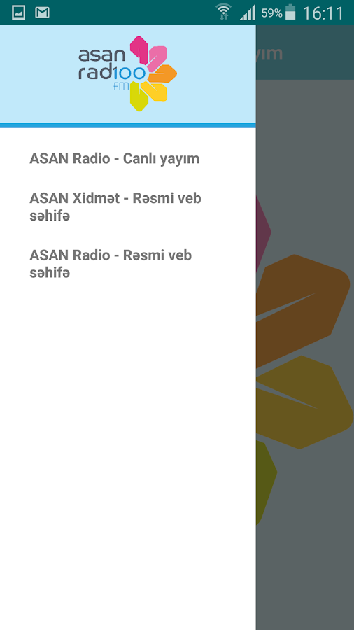 ASAN Radio- screenshot