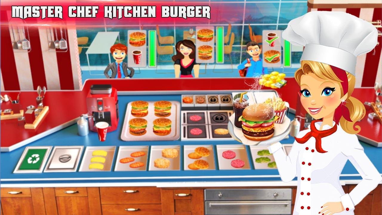 Cooking Burger Chef - Kitchen Game- screenshot