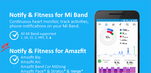 Приложения в Google Play – Notify & Fitness for Mi Band