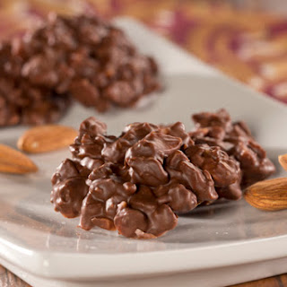 Chocolate Almond Clusters.