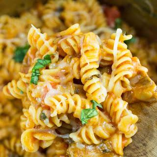 One Pot Veggie Rotini.