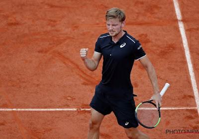 David Goffin op Roland Garros vlot voorbij Fransman Corentin Moutet