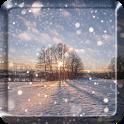 Winter Snow Live Wallpaper  HD icon