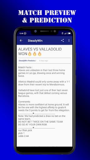 steadywin football & jackpot predictions screenshot 3