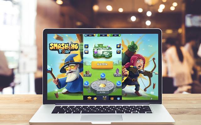 Smashing Four HD Wallpapers Game Theme