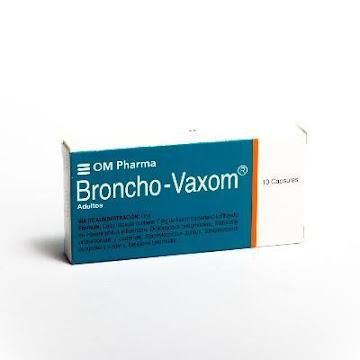 BRONCHO-VAXOM Adultos   7mg Cáp Caja x10Cap. Quideca Haemophilus