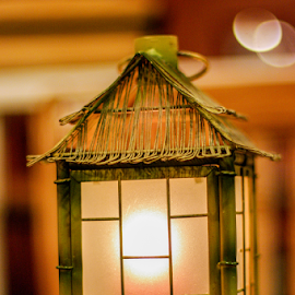 by Myra Brizendine Wilson - Artistic Objects Other Objects ( candle light, lantern )