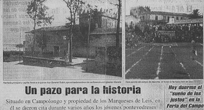 Photo: Nova da prensa do traslado do Pazo
