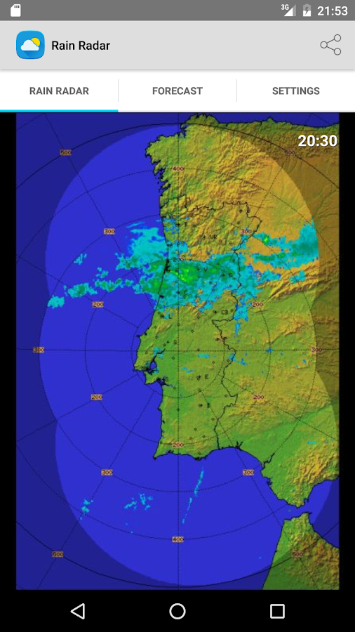 Rain Radar Portugal Android Apps On Google Play - Portugal rainfall map