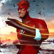Lightning Speed Flash Hero Warrior