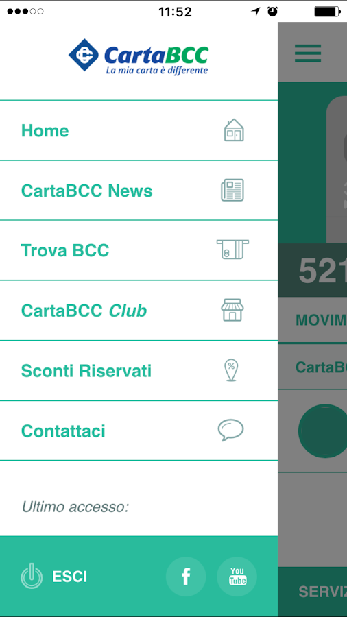 myCartaBCC- screenshot