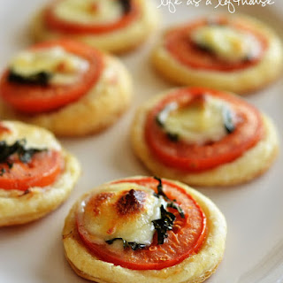 Mini Tomato & Mozzarella Tarts