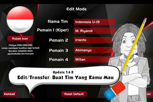 Liga Indonesia 2018 u26bdufe0f Piala Indonesia 1.8.5 screenshots 19