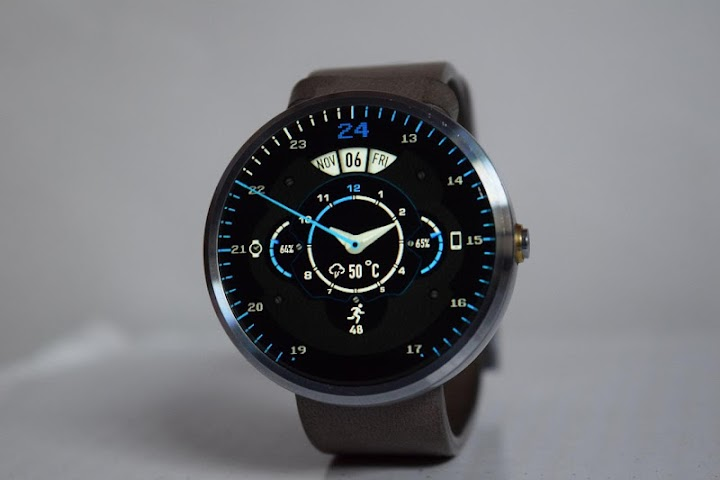 android Phroton Interactive Watch Face Screenshot 2