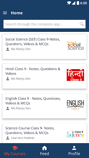 Class 9 App for CBSE / NCERT app (apk) free download for Android/PC/Windows screenshot