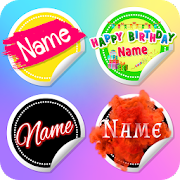 Name Sticker Maker - WAStickerApps, Text Stickers