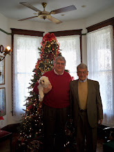 Photo: Paul Benoist, owner of the Benoist-Stier House, in the red sweater