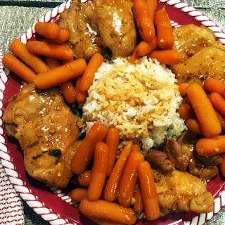 Instant Pot Honey Garlic Chicken and Carrots