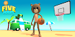 How to Download and Play Five Hoops - Basketball Game on PC, for free!