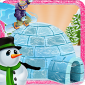 Build Igloo House - Winter Fun