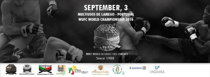 Full Contact: Mundial WUFC em Lamego – 3 de setembro de 2016