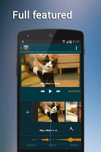 玩攝影App Video Edit + (Movie Maker)免費 APP試玩