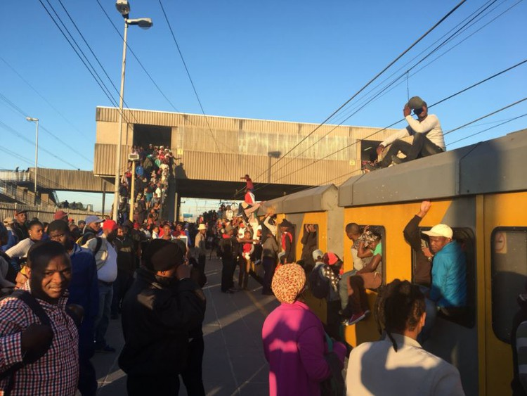 A security guard was shot dead during an armed robbery at the Chris Hani train station in Khayelitsha on Tuesday evening. File photo