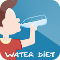 Water diet icon