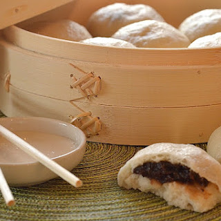 Sweet Steamed Buns with Date & Raisin Filling Recipe