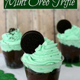Mint Oreo Trifle