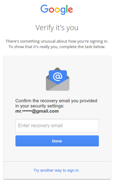 Account Activate Google Mail Message