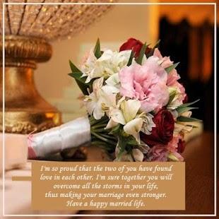 Wedding Wishes Screenshot Thumbnail
