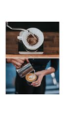 Pour Over & Latte - Photo Collage item