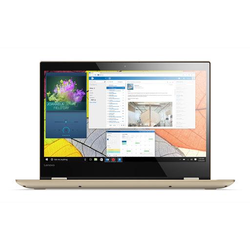 Máy tính xách tay/ Laptop Lenovo Yoga 520-14IKBR-81C800LGVN (I3-7020U) (Vàng)